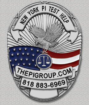 practice test questions NY Private Investigator test